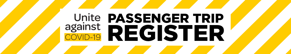 Unite against COVID-19: Passenger trip register