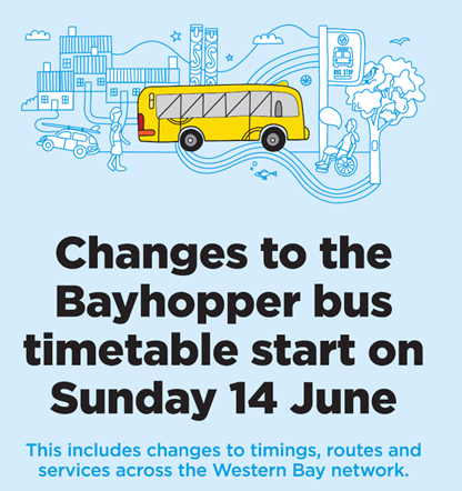 New Timetables for Tauranga