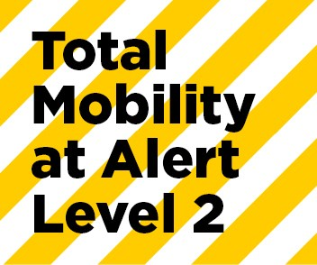 Total Mobility update for COVID-19 Alert Level 2