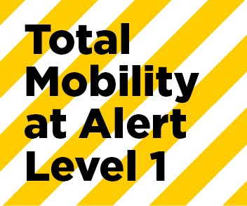 Total Mobility update for COVID-19 Alert Level 1 updated 22 September